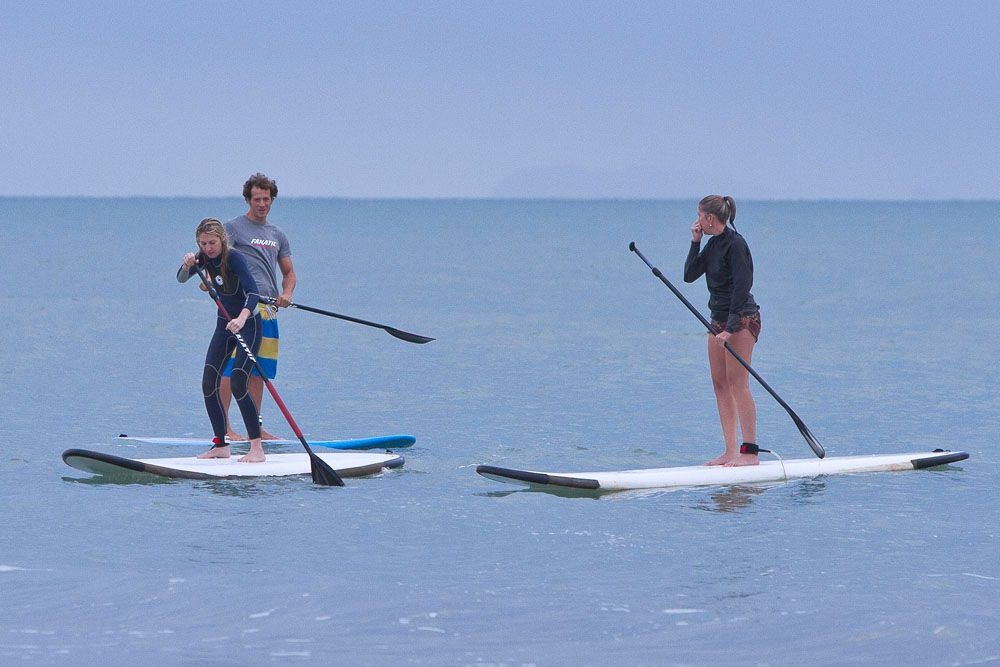 our students always have so much fun learning how to paddle board