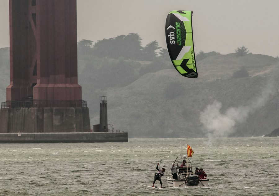 heineken Kite racing