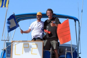 Good vibes and 110% professionalism by our race committee Robbie Dean and John Byrnes